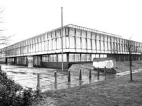 The Heathrow International Trading Estate where the Brink's Mat robbery happened