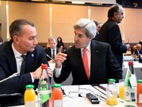 US Secretary of State John Kerry was at the conference