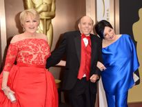 Judy Garland's children Lorna Luft, Joseph Luft and Liza Minnelli at the Oscars in 2014
