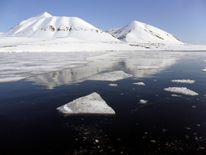 The level of sea ice in the Arctic is thought to be at its lowest for thousands of years
