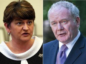 Arlene Foster and Martin McGuinness
