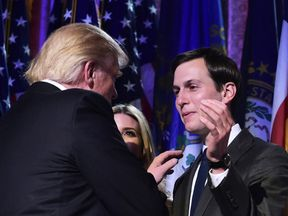 Jared Kushner was a prominent figure on the campaign trail