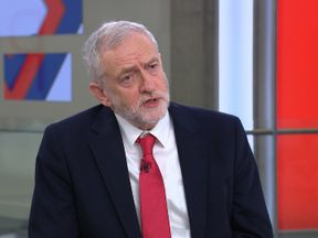 Jeremy Corbyn on Sophy Ridge on Sunday