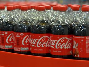 An internal Coca-Cola reports targets EU deposit systems for 'fightback'