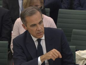 "Mark Carney told MPs a Brexit transition process was ""highly advisable"""