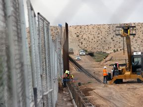 Mexico-US border wall