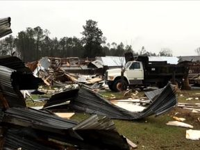 Seven people died at a mobile home park near Adel, south Georgia