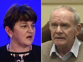 Arlene Foster has hit back at the resignation of Martin McGuinness