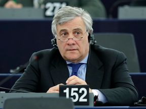 Antonio Tajani is one of the frontrunners to succeed Martin Schulz
