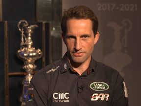 Sir Ben Ainslie has been working to reduce his impact on the oceans