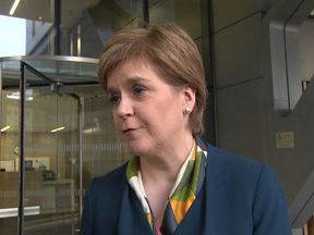 Nicola Sturgeon talks to Sky News about the PM's Brexit plan