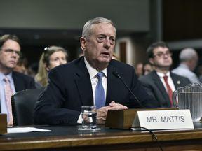 Donald Trump's pick for defence secretary James Mattis
