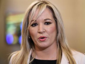 Michelle O'Neill has spent years working on mental health and suicide prevention
