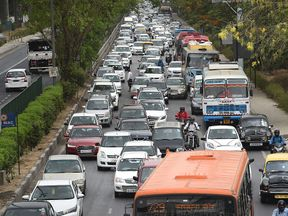 The study found the effect was worst for those near roads in big cities