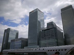 HSBC is based at Canary Wharf