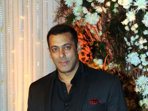 Actor Salman Khan pictured in Mumbai in April last year
