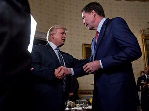 Trump: FBI director James Comey 'more famous than me'