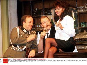 Gorden Kaye: Star who played Rene in Allo Allo! dies aged 75