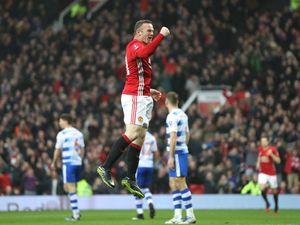 Wayne Rooney beats Bobby Charlton's Manchester United goal record
