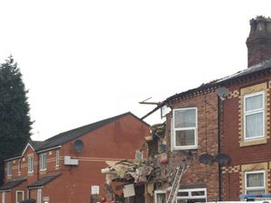 House blast injures five people in Manchester