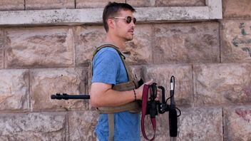 Jim Foley, murdered by IS in 2014