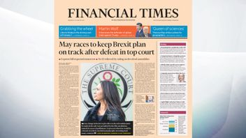 The Financial Times leads with the Government's defeat in the Supreme Court over Brexit