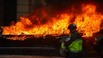 A number of fires were set off across Washington DC