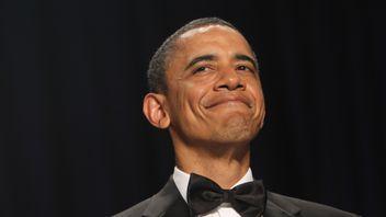 Barack Obama at the White House Correspondents Dinner 2011