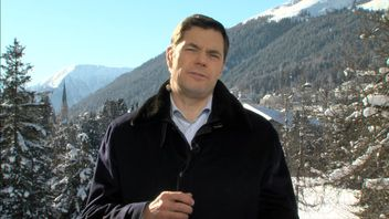 Russia's richest man Alexey Mordashov speaking to Ian King Live from Davos 18 January 2017