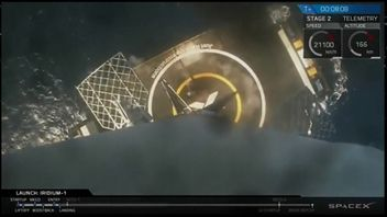 The SpaceX rocket landed itself in its comeback mission in January 2017