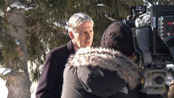 Chancellor Philip Hammond in Davos