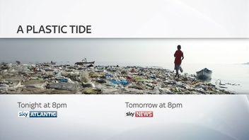 Sky's Plastic Tide promo