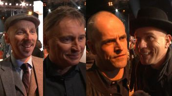 Ewen Bremner, Robert Carlyle, Jonny Lee Miller and Ewan Mcgregor