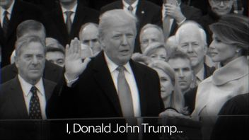 Donald Trump adds his name to those who have said the presidential oath of office