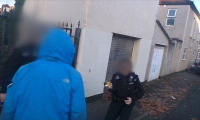 Police Taser their own race relations leader in Bristol