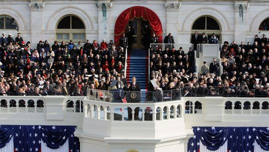 Barack Obama became the first black president when he was sworn in on 20 January 2009
