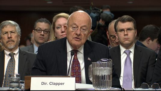 James Clapper, director of the US's National Intelligence