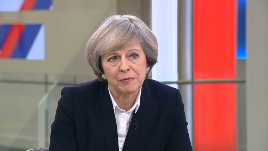 Theresa May explains how her government will balance seeking control of immigration and access to the single market