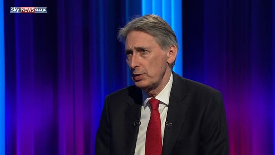 Philip Hammond talks about appointment of Sir Tim Barrow