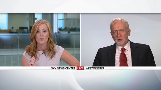 Sarah-Jane Mee discusses immigration and wage caps with Jeremy Corbyn