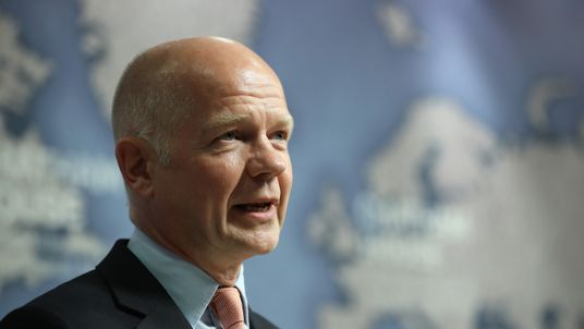 Former Tory leader William Hague was made a peer after he left frontline politics