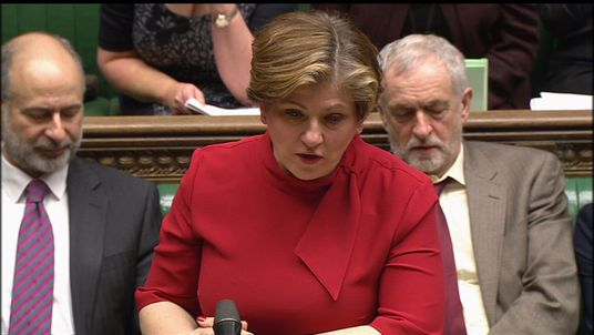Emily Thornberry responds to Boris Johnson's statement on US travel in the House of Commons