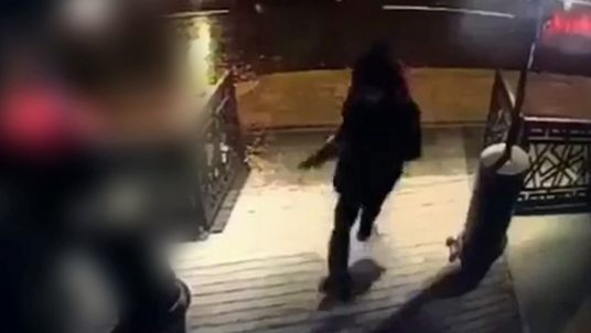 Video        CCTV shows killer opening fire