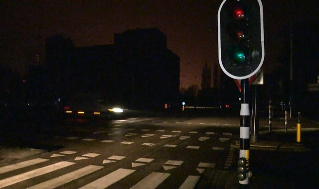Stroomstoring blackout hits Amsterdam rush-hour