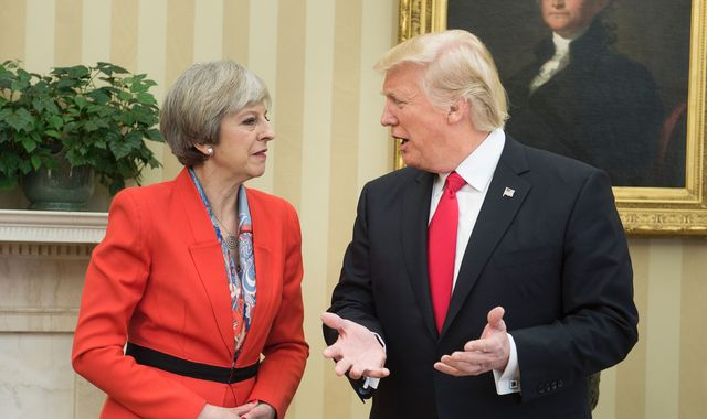 British Parliament debates Trump's United Kingdom visit