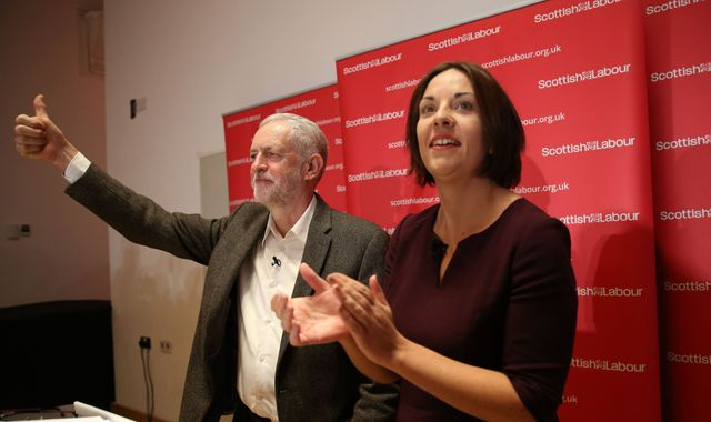 Jeremy Corbyn lambasts SNP as Labour launches fight back in Scotland