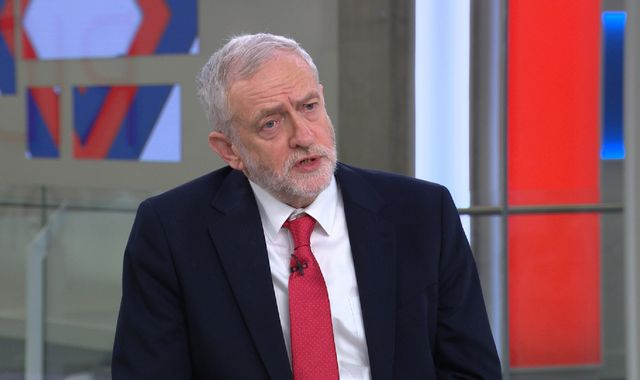Jeremy Corbyn warns of huge job losses with 'tax haven' Brexit