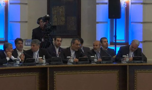 Syrian regime labels rebels' speech 'insolent' at first face-to-face peace talks