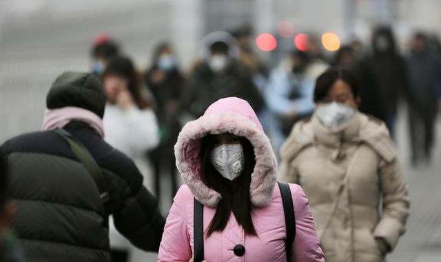 China 'orders forecasters to stop smog alerts'
