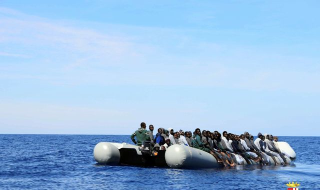 Up to 100 feared dead as migrant boat capsizes off Libya coast